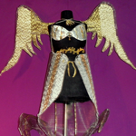 Winged Costume metal fashion wings