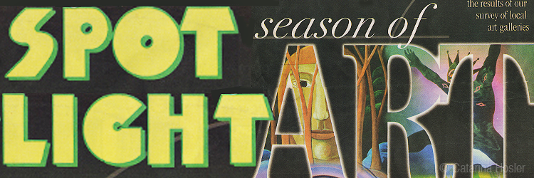 Season of Art - Sentinel Spotlight - Cover Art - October 1999